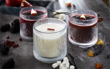 20 % auf Kerzen im Glas